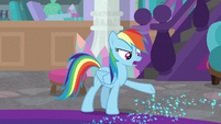 "Rainbow ""your boots are leaving sparkles"" S8E17"