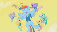 Rainbow Dash Singing Her Heart Out S1E11