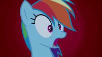 Rainbow Dash horrified --oh, no!-- S6E15