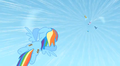 Rainbow flies down to save Rarity S1E16.png