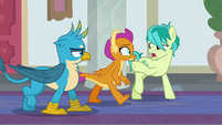 """Sandbar """"these ponies saved all of us"""" S8E1"""