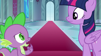 "Spike ""did she just prance?"" S8E7"