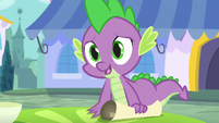 Spike -the princess asked me- S5E10