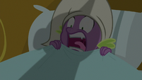 Spike screaming in terror S9E19