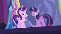 Starlight accepts Twilight's congratulations S7E1