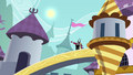 Tirek and Discord on a bridge S4E26.png