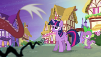 Twilight reprimands Discord S4E02