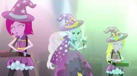 -Latino- Equestria Girls Rainbow Rock - Tricks Up My Sleeve -HD-