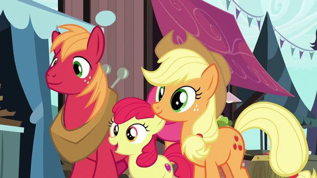 "File:Apple Bloom ""did you know our mom, too?"" S7E13.png"