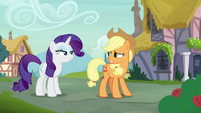 Applejack -if she knew how hard we worked- S7E9