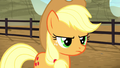 Applejack looking sternly at Braeburn S5E6.png