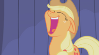 Applejack opens her mouth S1E06