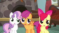 CMC listening to Applejack S5E6