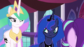 Celestia and Luna considering Starlight's words S7E10.png