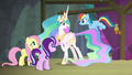 Celestia tells Rainbow to gather clouds S8E7.png