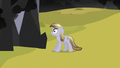 Crystal Pony looking at black cloud S3E2.png