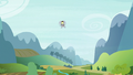 Derpy the mailmare flying into view S6E25.png