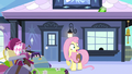 Fluttershy almost late S3E11.png