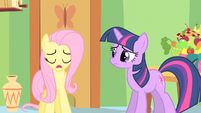 Fluttershy to be a model S1E20