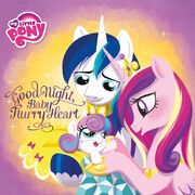 MLP Good Night, Baby Flurry Heart picture book cover
