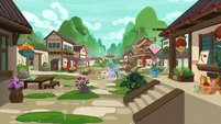 Mistmane's village restored to its original state S7E16
