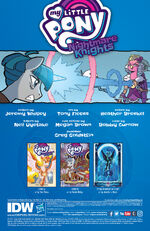 Nightmare Knights issue 4 credits page