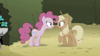 Pinkie Pie 'what are you laughing at' S2E01
