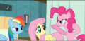 Pinkie Pie trying to scare Dash S2E16.png