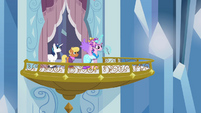 Princess Cadance announcing the Equestria Games to be held in the Crystal Empire S3E12