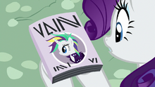 Punk Rarity on the cover of Vanity Mare S7E19
