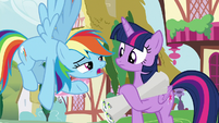 Rainbow -you haven't seen Scoot, have you-- S8E20