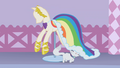 Rainbow Dash's dress on display S1E14.png