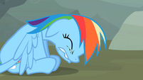 Rainbow Dash on the verge of tears S2E07