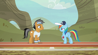 Rainbow takes it slow for Quibble S9E6