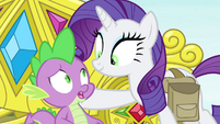 "Rarity ""there you'll be by my side"" S4E23"