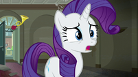 Rarity --do something about that-- S6E9
