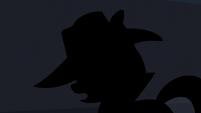 Silhouette of Rarity S5E15