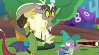 Spike refuses to give Discord the telescope S8E10