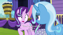 Starlight Glimmer gasping in surprise S8E19