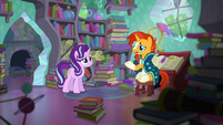 Sunburst --Princess Twilight is keen on the two of us rekindling our friendship-- S6E2