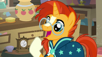 Sunburst notices something interesting S7E24