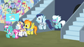 The Wonderbolts enter the stadium S4E24.png