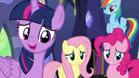 "Twilight ""knowing we've helped fillies like you"" S7E14"