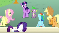 "Twilight ""remind her what she's good at"" S8E18"