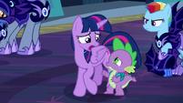 Twilight --We have no choice, Spike-- S5E26