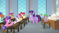 Twilight -what are you three doing here-- S8E12