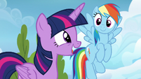Twilight Sparkle --they could learn a lot!-- S6E24