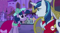 Twilight and Shining Armor at coach S02E26.png