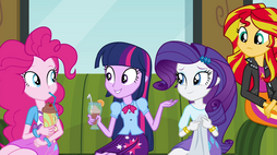 "Twilight asks ""what's new here?"" EG2"