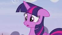 Twilight in complete disbelief S5E25